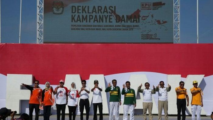 Kampanye Damai Pemilu Indonesia