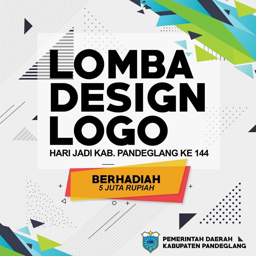 sayembara desain logo ultah 144 kab pandeglang