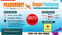 Kopdar dan Ngabuburit Bareng Komunitas Blogger Pandeglang