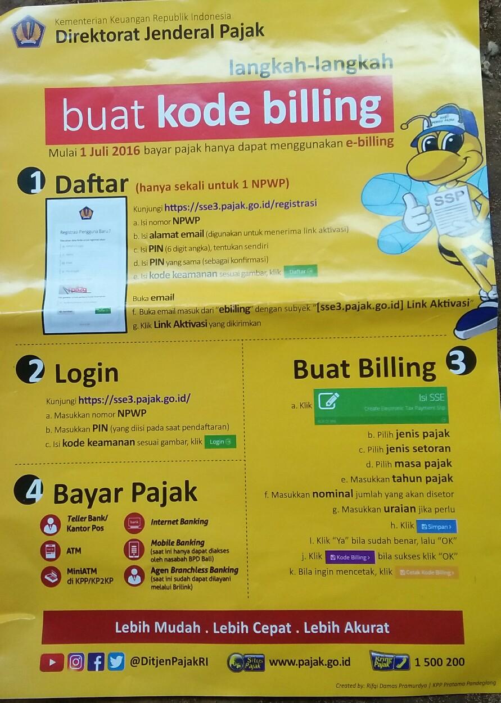 Cara Mudah Bayar Pajak Dengan e-Billing