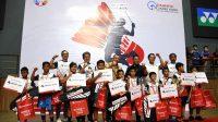 10 Siswa SD Lolos Audisi Bulutangkis Sinar Mas Land Mencari Juara 2019