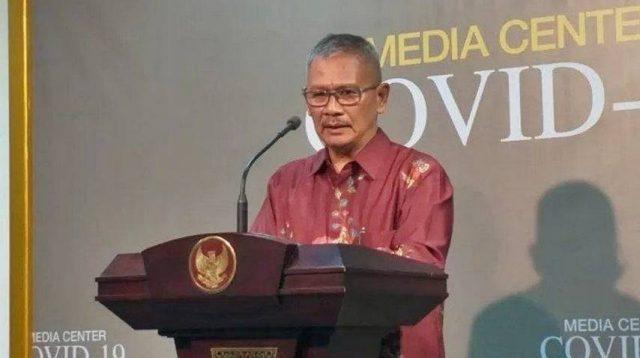 Konferensi Pers Terkait Perkembangan Kasus Virus Korona di Indonesia