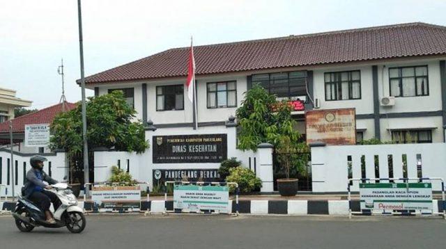 Kantor Dinas Kesehatan Kabupaten Pandeglang