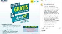 Yuk Buruan Klaim Listrik Gratis Bulan Mei 2020 Melalui Website PLN dan Pesan WhatsApp