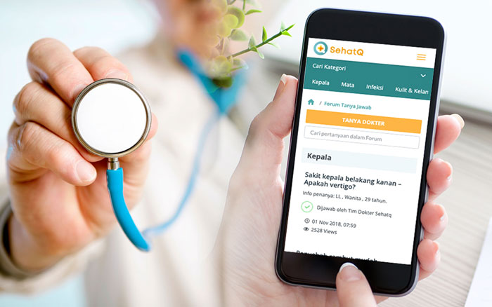 sehatq booking dokter
