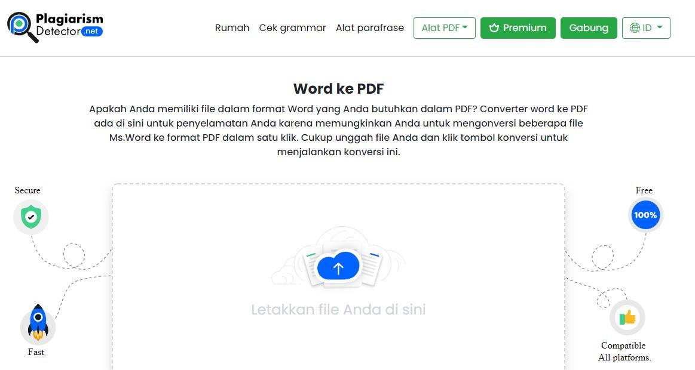 Konversikan File Word ke PDF Menggunakan Alat Online