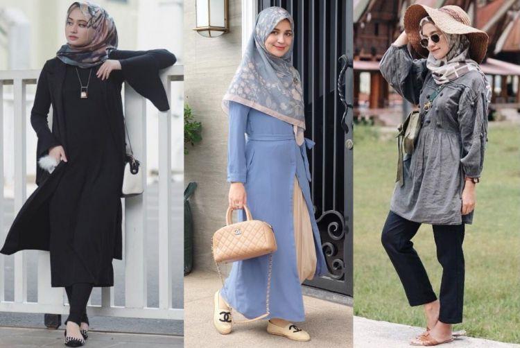 5 Ide Hijab Selebgram Dengan Pilihan Motif Manis yang Bisa Kamu Tiru