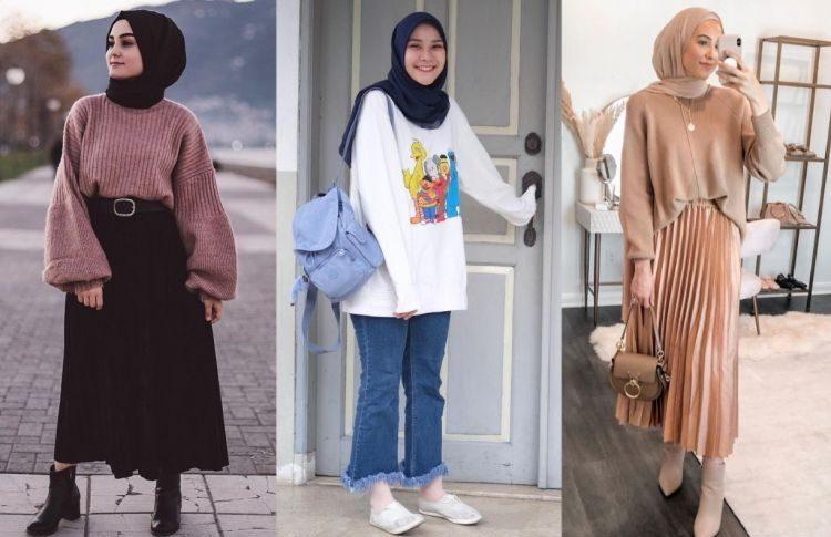 5 Inspirasi Sweater Anti Membosankan yang Bisa Kamu Tiru