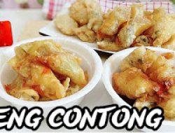 Resep Cara Membuat Cireng Contong, Kenyal-Kenyol Krenyesnya Bikin Ketagihan