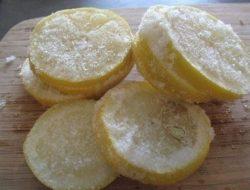 Taruh Irisan Lemon ke Dalam Freezer Hingga Beku, Khasiatnya 10 Ribu Lebih Baik Dari Kemoterapi