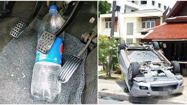 Bisa Berakibat Fatal, Hindari Menyimpan Botol Minum di Dalam Mobil