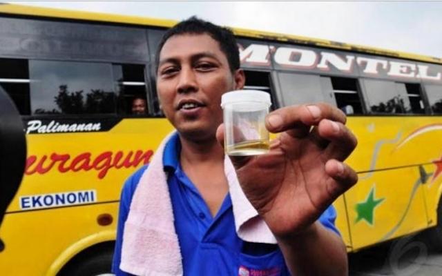 Konyol! Pinjam Urin Istri Saat Tes Narkoba, Supir Bus ini Dinyatakan Hamil