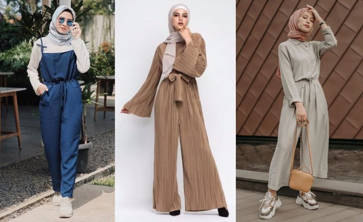 Tips Memadukan Jumpsuit dan Jilbab Agar Tetap Syar'i dan Tampil Kekinian