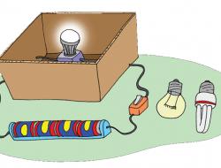 Laporan Acara Percobaan Lampu Irit Listrik