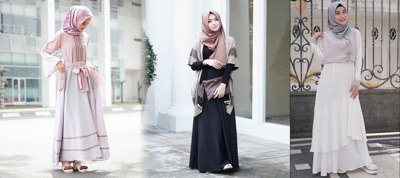 Kamu Wajib Tahu, 5 Gaya Cantik Saat Ramadan dengan OOTD Gamis Ala Selebgram