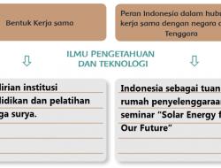 Indonesia Luncurkan Program Akademi Energi Surya