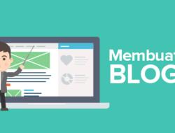 Cara Membuat Blog Di Google Melalui Blogger