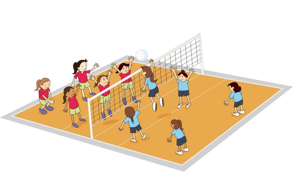 Acuan Soal Bola Voli Pilihan Ganda Dan Kunci Balasan