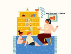 Teladan Soal Personal Pronoun Opsi Ganda Dan Tanggapan