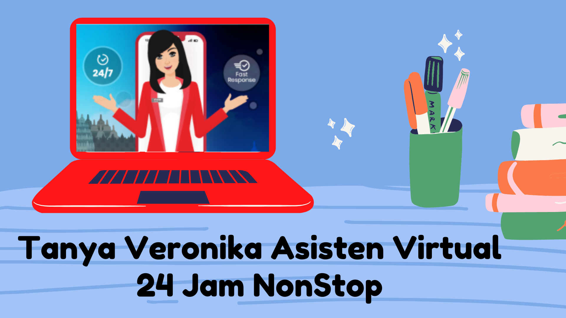 Veronika Asisten Virtual Telkomsel
