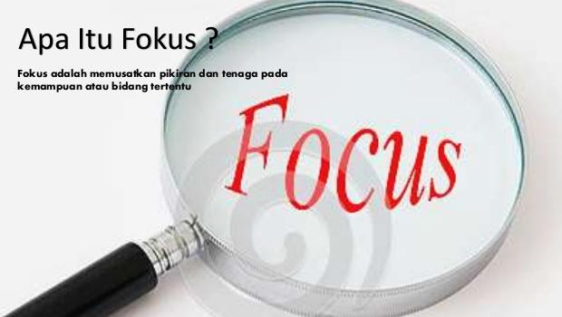 Kenapa Bisnis Harus Fokus? Begini Penjelasannya
