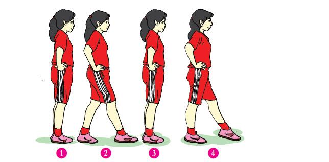 Gerak Langkah Kaki Dan Ayunan Pada Senam Irama
